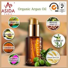 2015 hot vender orgânica óleo de argan para cabelos danificados