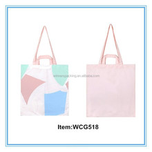 hot sales printed canvas promotional shopping bag wholesale