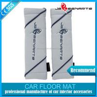 cartoon comfortable lint car seat belt cover pillow shoulder pad,good promotional gift seat belt shoulder pad