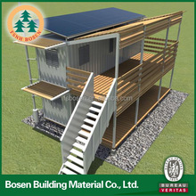 Beautiful ready made hotel project living container house for sale