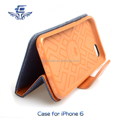 Factory directly customized case cover for iPhone 6 6S Plus flip phone cases