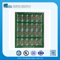 fri double side pcb /KB 3151C FR-1 printed circuit board with TS 16949 complaint