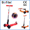 2015 best sell red kick scooter, 4 wheels scooter, folded scooter