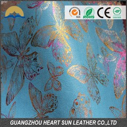 rewarding cheap pu synthetic shiny shoes upper material