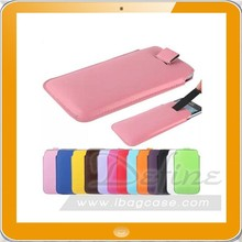 High Quality Pouch Wallet Cover Case PU Mobile Phone Bag