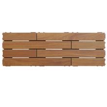 FlexDeck The Authentic Outdoor Hardwood Deck Tile