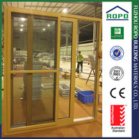 Sound and hot insulating PVC sliding shower door
