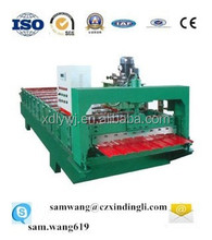 russian style T8 roof/wall tile steel panel roll forming machine