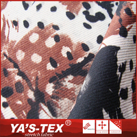 2016 New design spandex polyester jacquard wear resistant printed fabrics in China manufacturers
