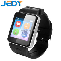2015 New product smart watch phone SOS call heart rate monitor pedometer GPS tracker tempreture measure for android phone