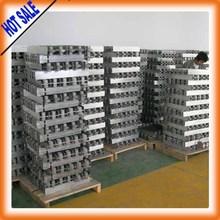 hot sale ! Aluminium alloy ingot / aluminium ingot 99.7% SGS primary aluminum ingot manufacturer