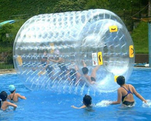 high standard hot selling inflatable water roller, aqua rolling ball, water walking rollers