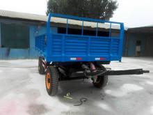 Pretty quanlity single axle atv farm dump trailer 2 wheels farm trailer