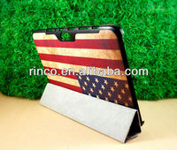 """Retro US Flag Stand Leather Case for Samsung Galaxy Note 10.1"""" N8000 Case"""