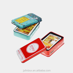China Supplier top leading package Customized business card tin box