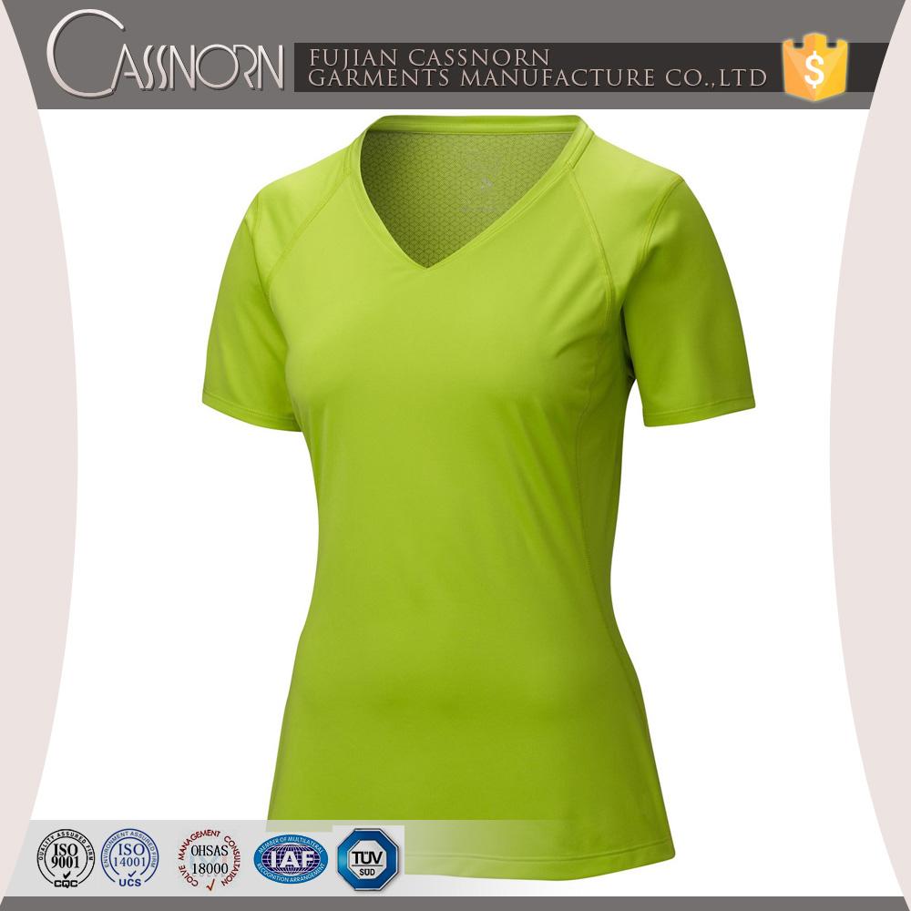 Good quality colorful plain v neck wholesale short sleeve for Plain quality t shirts