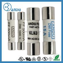 Ceramic FUSE LINK fuses 250V 1A 10X38 fuse