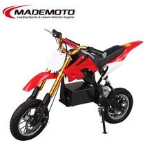 New model smart balancing Off road motorcycle, Green power 500W electric dirt bike