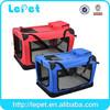 High quality folding soft pet crate, pet carrier