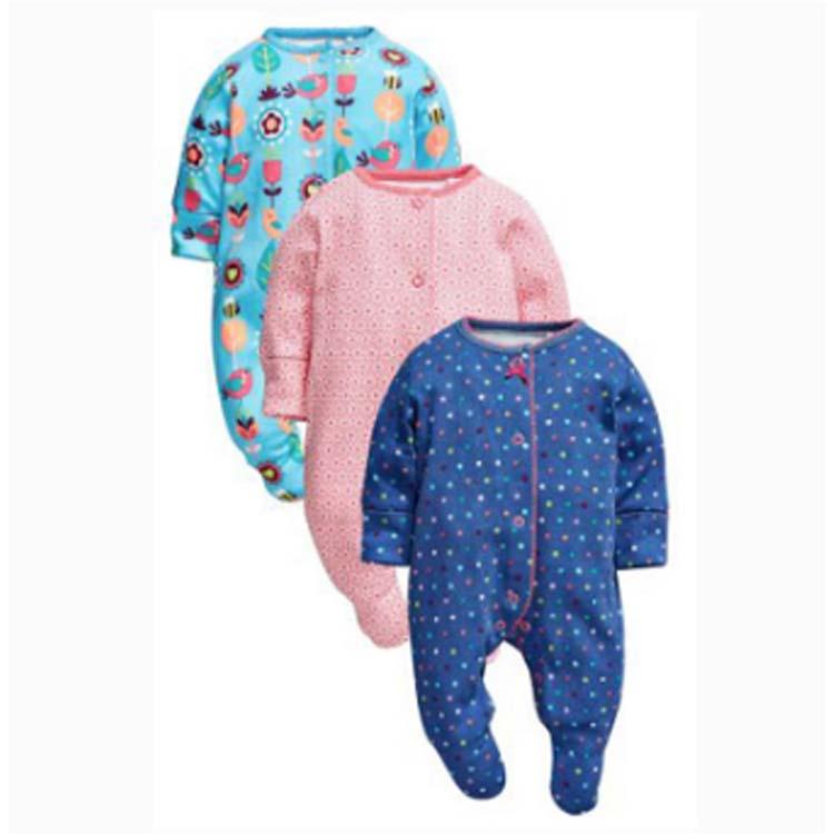 모든 시즌 세 팩 밝은 <span class=keywords><strong>지리</strong></span>적 개인화 신생아 sleepsuits 다음글 아기 소년 sleepsuits 판매