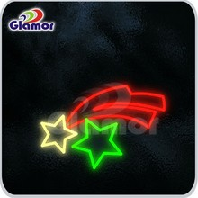 New products christmas decoration star led motif lighting