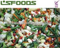 IQF frozen mixed vegetables/Hawaiian mix, European mix, Mexican mix etc.