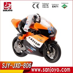 Hot Selling JXD 806 RC Remote Control Motocycle 1/16 Scale 4CH 2.4G Boys ElectricToys Radio Children Gift moto JXD806