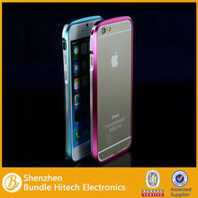 2015 New products metal bumper case for iphone 6