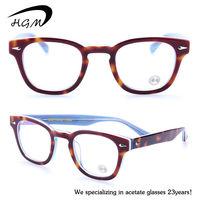 Custom high quality transparent spectacle frame