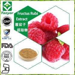 ISO9001,KOSHER,FDA certificated fructus rubi extract raspberry ketone plant extract