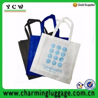 Non-woven bag with gusset multi-color widely use shopping bag