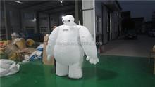 Lovely Inflatable baymax cartoon/inflatable character cartoon