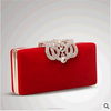 New Women's Clutch Fashion Crown Diamond Evening Clutch Bags