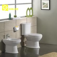 diseño caliente proveedor de china baratos dos piezas de cerámica de cerámica de baño
