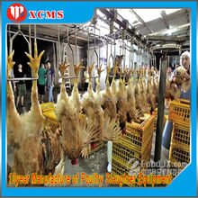 HALAL CHICKEN SLAUGHTER AND ABATTOIR MACHINE LINE