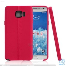 Newest high quality double Line TPU Case for Samsung Galaxy Note5