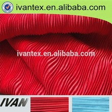2015 de moda nuevo diseño 100 de poliéster tejido arruga
