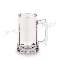 High Quality 17oz Thick Plastic Beer Mug