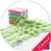 Wholesale 100% cotton super soft face towel striped lovely children face towel