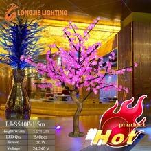 540 Fashion and high quality mini led christmas tree