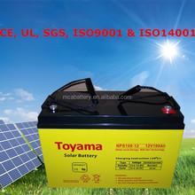 Высокое качество 12 В солнечной аккумулятор евро солнечные аккумулятор 150Ah
