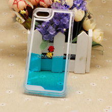 mobile phone accessory glitter flowing liquid star cheap price waterproof case for samsung galaxy a5,case for micromax