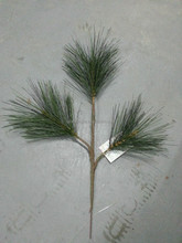artificial pine leaves branch unreal artificial pine leaf plastic pine branch for decor