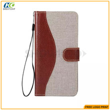 3 card holder & 1 Money wallet holder cell phone case For Samsung galaxy note 5 / Note 5 edge