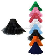 """Red White Black 26"""" Petticoat Underskirt Prom Party Swing Rockabilly Dress Fancy Dress"""