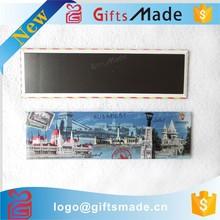 Most Popular Low Cost Home Decoration Photo Etched Metal Souvenir Fridge Magnet