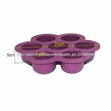silicón de la venta de la bandeja del molde de silicona caliente para hornear