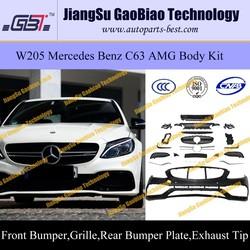 W205 C63 AMG body kit for mercedes W205 benz