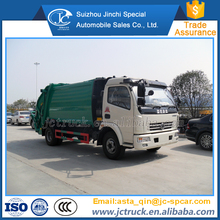 Diesel Engine Type 7cbm right hand drive recycle garbage truck wholesale