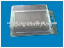 clear clamshell packing box clear blister packing box 11 pieces blister packing